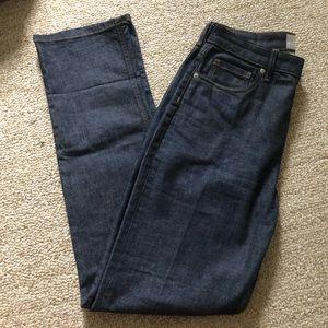 Everlane High Rise Straight Leg Jean 29